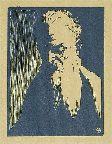 Felix Vallotton, Portrait of an Old Man