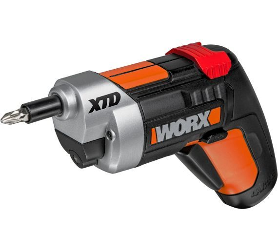 Buy Worx Wx252 Extending Cordless Screwdriver - 4V at Argos.co.uk - Your Online Shop for Screwdrivers, DIY power tools, DIY tools and power tools, Home and garden.