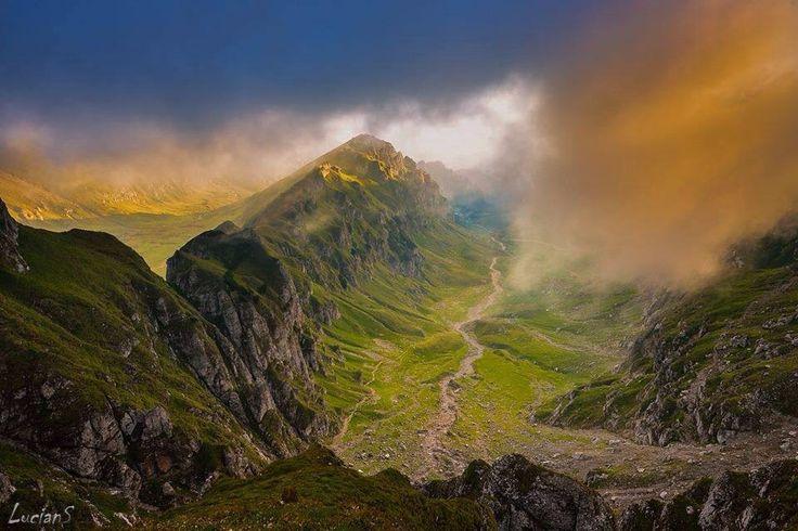 Bucegi Mountains , Romania