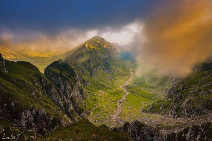 Bucegi Mountains , Romania