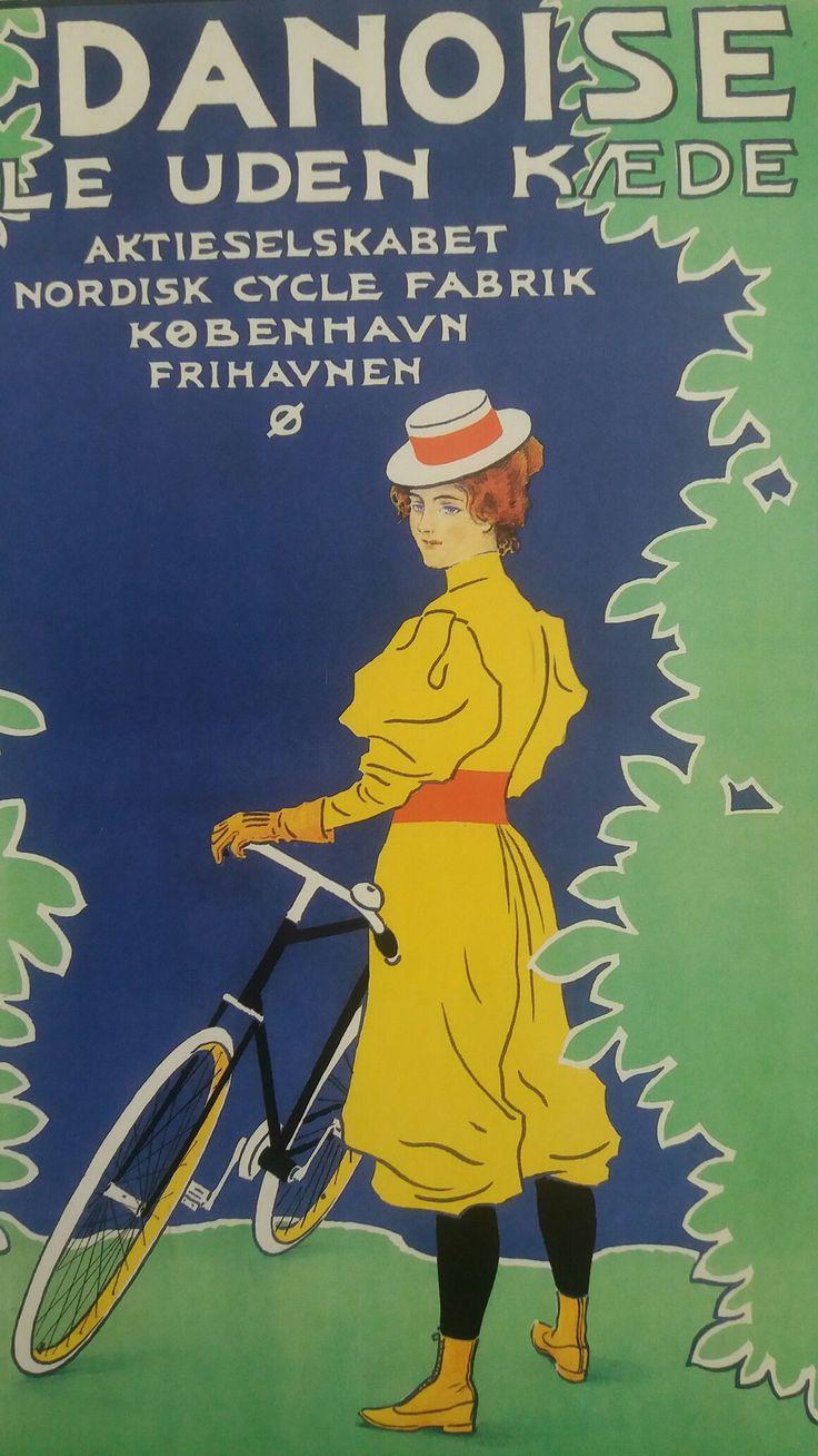 Paul Fischer Plakat ca.1900 Kunstindustrimuseet