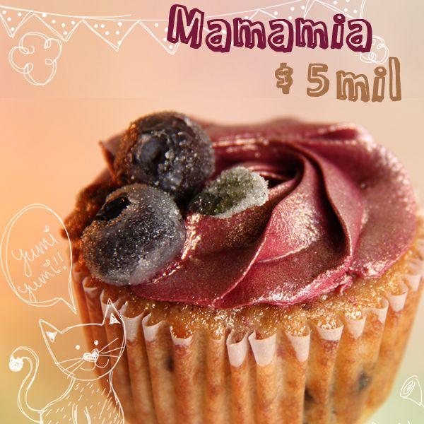 Mamamiaaa!!! que delicia de combinación apenas para una mamá golosa.