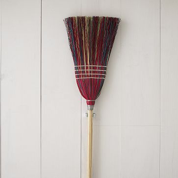 Berea College Straw Broom- Multicolor #WestElm