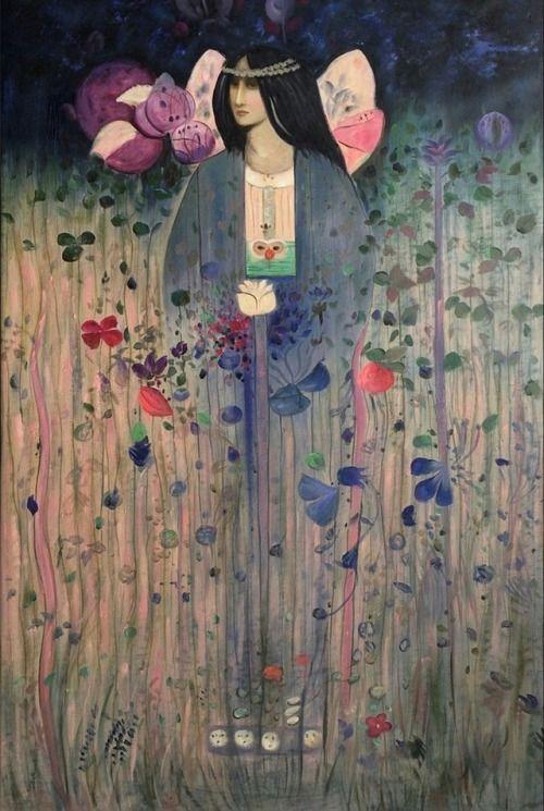 In Fairyland - Charles Rennie Mackintosh