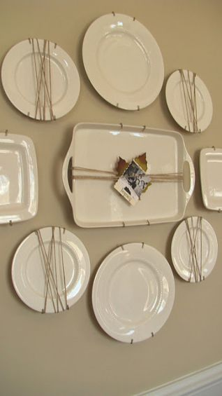 I like this, not sure where I would do this.  I have plaster walls, so repairing…