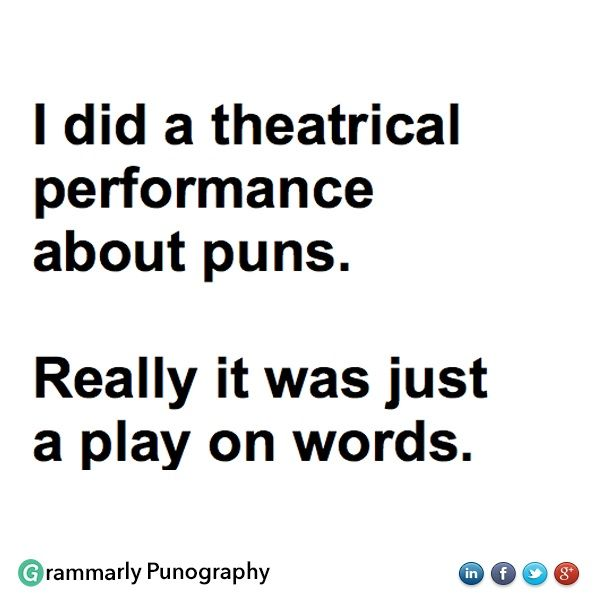 puns play on words list