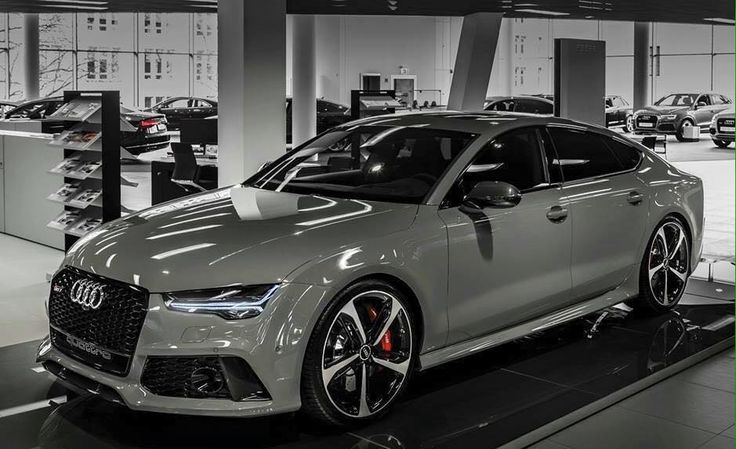 Audi RS 7 in Nardogrey