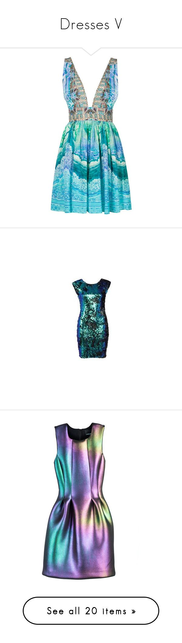 """""""Dresses V"""" by mayblooms ❤ liked on Polyvore featuring dresses, short dress, blue, blue backless dress, short flare dress, short dresses, flare dresses, camilla dresses, usc clothes and womens clothes"""
