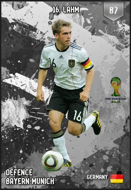 #PhilippLahm Germany's Team Captain FIFA World Cup 2014.  Congrautlations on bringing the cup back to Germany!
