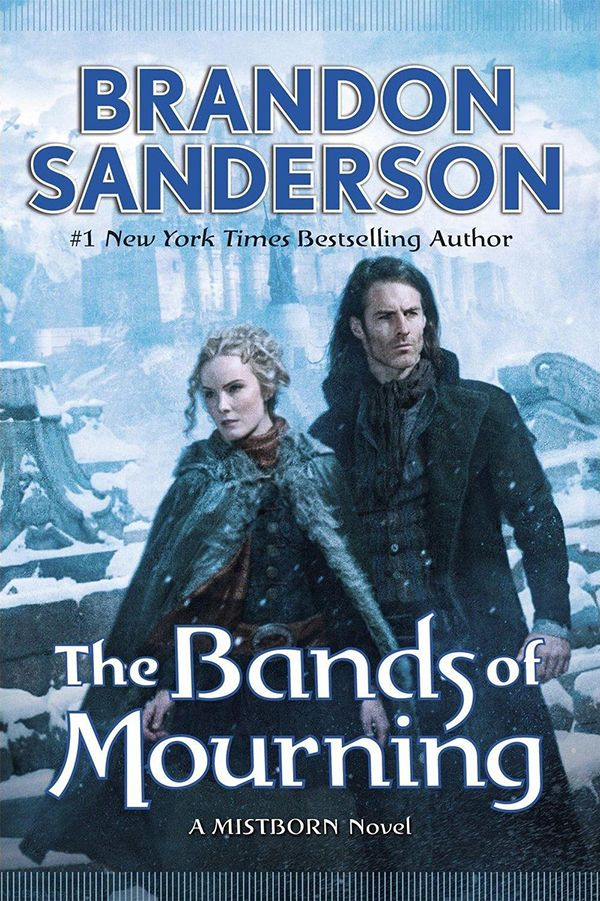With The Alloy of Law and Shadows of Self, Brandon Sanderson surprised readers with a New York Times bestselling spinoff of his Mistborn books, set after the action of the trilogy, in a period corresponding to late 19th-century America. Now, with The Bands of Mourning, Sanderson continues the story.