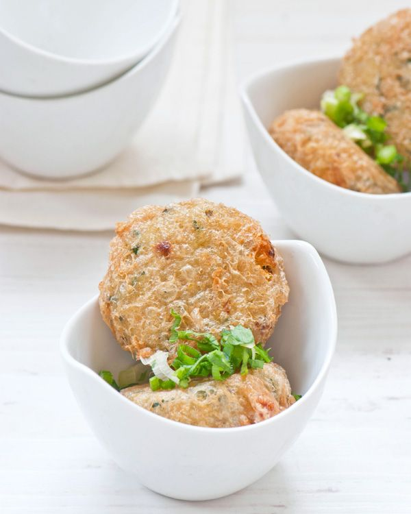 Perkedel kentang - potato fritters