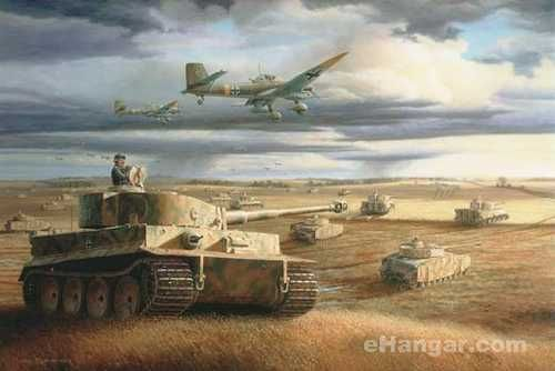 wittmanns tiger 1 at kursk by barry spicer awesome