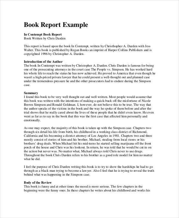 Book Report Format 10 Free Word Pdf Documents Download Book Review Template Book Report Templates Book Report