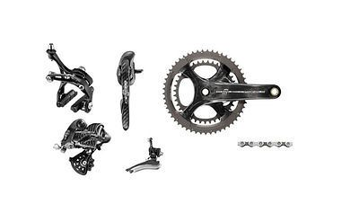 Build Kits and Gruppos 109120: New Campagnolo Chorus Group Set 172.5Mm 36/52 Campy Kit Full Warranty BUY IT NOW ONLY: $981.83