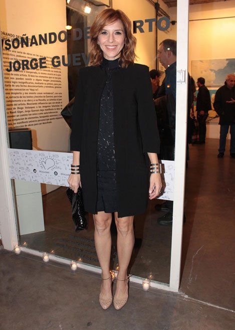 """Carla Peterson- """"Soñando despierto"""" con obras que pertenecían a Jorge Guevara en el taller del artista Milo Lockett en Palermo"""