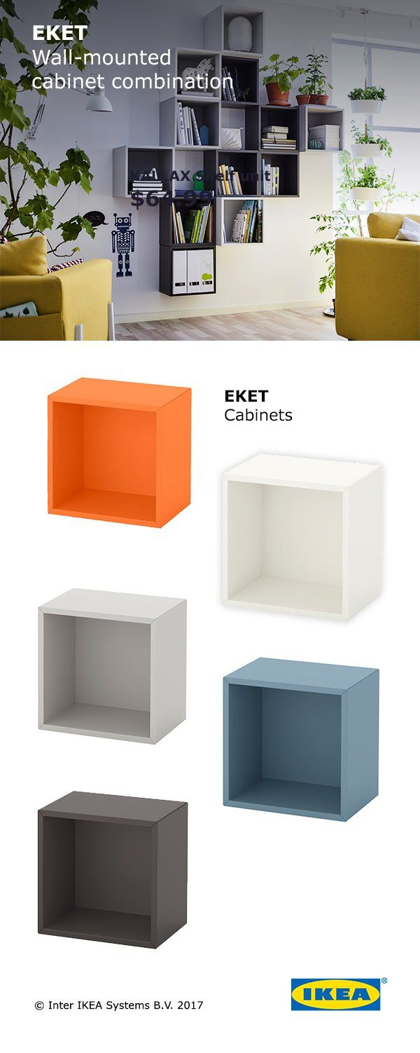 Modular storage furniture systems - If Your Living Room Doesn T Have Much Floor Space Ikea Modular Wall Storage Is A Great Solution You Can Use It As Storage For Toys Blankets And Books