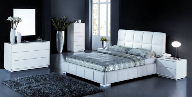 VALENTINO KING 3 PIECE BEDSIDE BEDROOM SUITE - ANTIQUE WHITE - Australia's Best Online Furniture & Bedding Store
