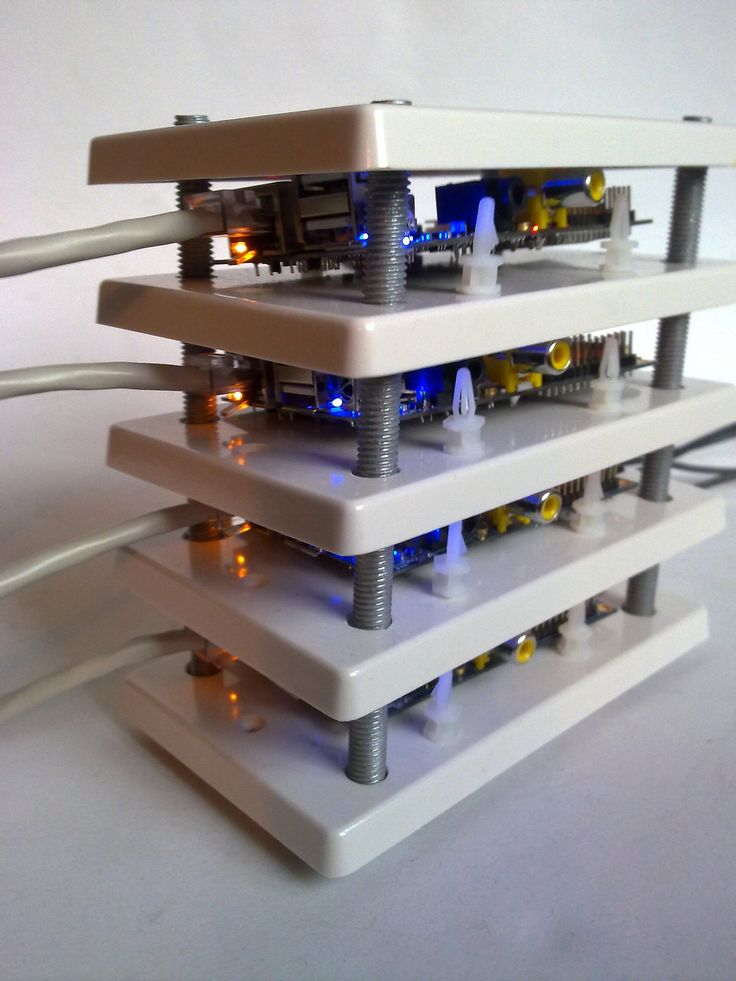 Building the cluster using Banana Pi's - an ARM powered mini-computer inspired by the Raspberry Pi.