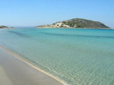 Simos beach, Elafonisos island. (Just got back from that beautiful place.Before a few hours I was relaxing watching that crystal water..-30.08.11)