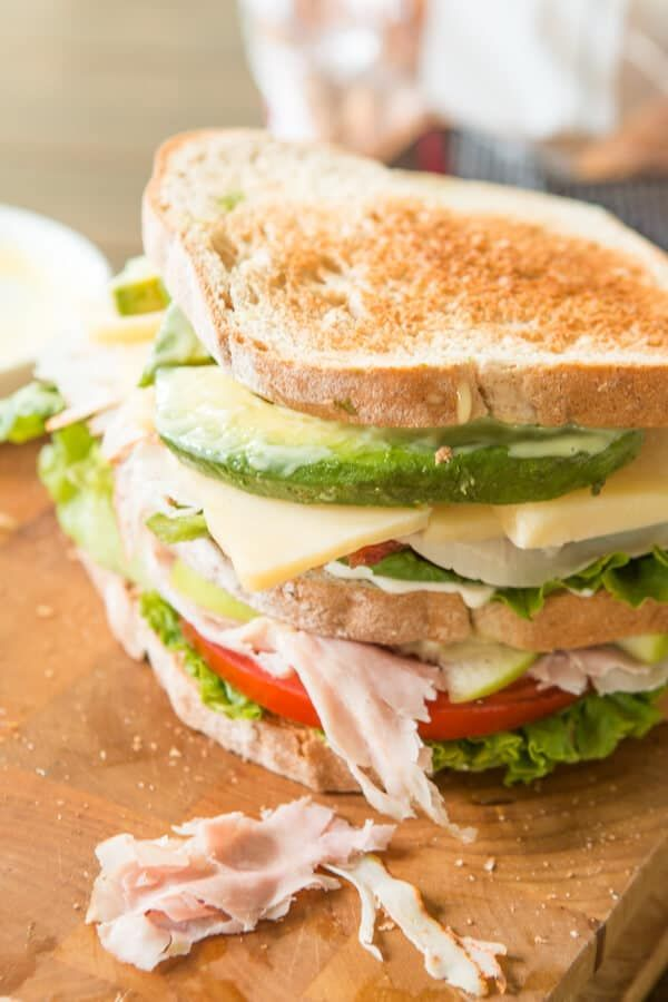 So you think you love club sandwiches, do you? You don't know good until you've had the BEST Triple Decker Club Sandwich.