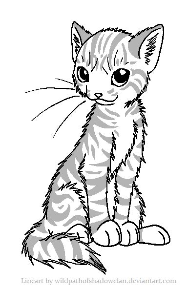 warrior cats coloring pages starclan - photo#22