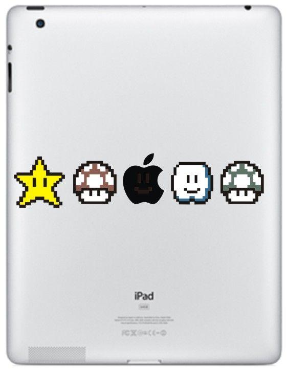 Det största och bästa urvalet av iPad 2, 3, 4 #dekaler! Sätt någon av dessa #stickers på din iPad och vet vilken som är din.