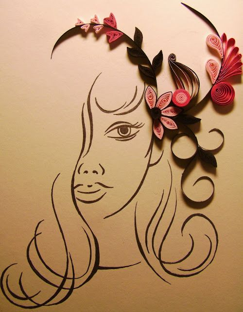 Quilling Me Softly: October theme in Emirates Quilling Guild