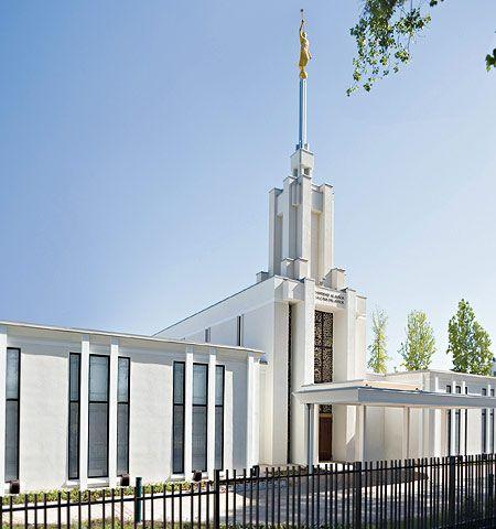 Santiago Chile Temple of The Church of Jesus Christ of Latter-day Saints. #LDS #Mormon