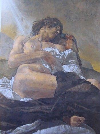 Endymion, Villeneuve-les-Sablons, 1979 by Yannis Tsarouchis.