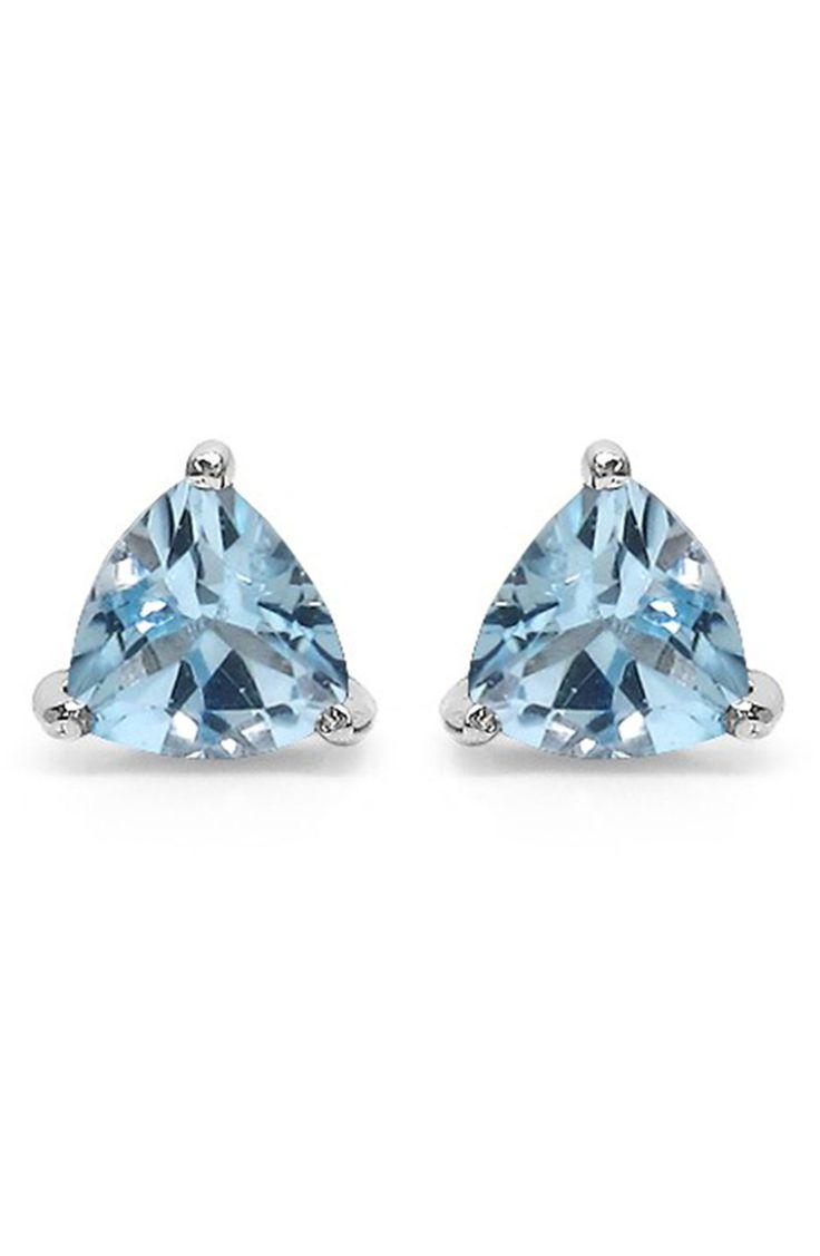 Will Bishop Sterling Silver, Blue Topaz & Cubic Zirconia Molten Ring - UK U - US 10 1/4 - EU 62 3/4