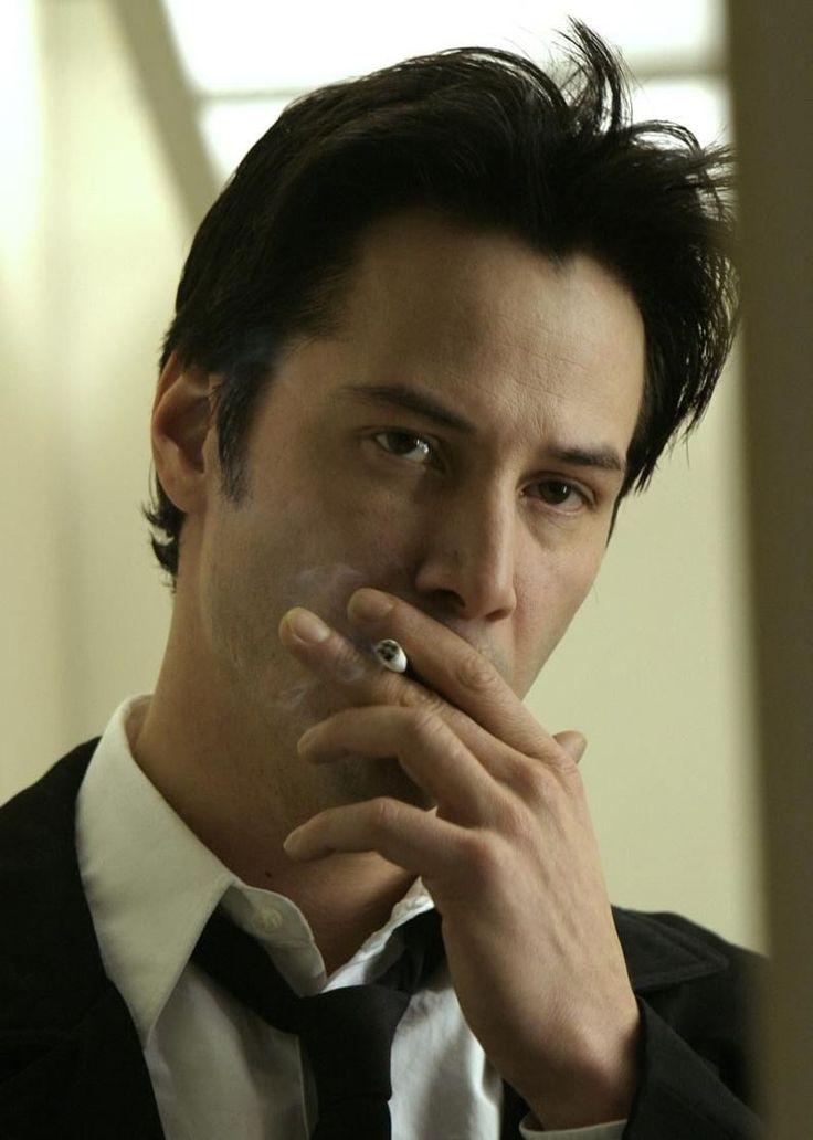 """Keanu Reeves en """"Constantine"""", 2005"""
