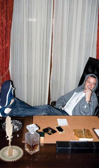 Colin McKay with Nixon