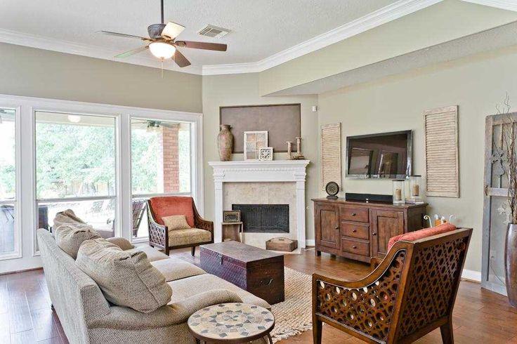 Living Room Furniture Arrangement With Corner Fireplace corner fireplace? this is a great arrangement! | property