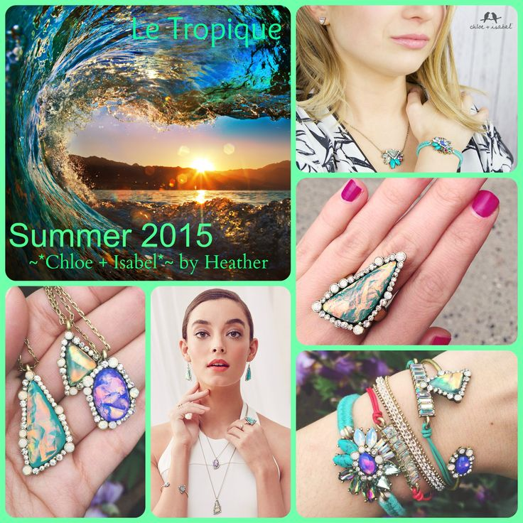 Le Tropique has arrived at Chloe + Isabel!  #chloeandisabel #summer2015 #frenchpolynesia