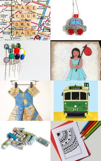 Make Your Own Path by Mary Richardson on Etsy--Pinned with TreasuryPin.com