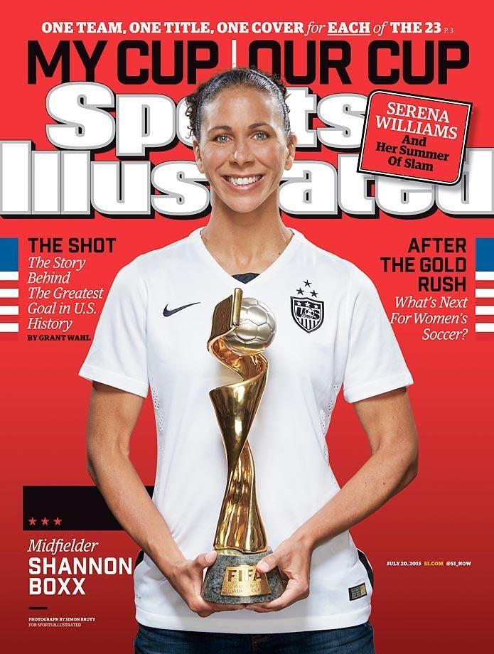 covers 2015 World Cupwinning U.S. women Uswnt, Sports