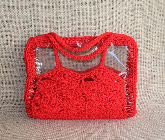 Summer offer Red summer bag Everyday clutch bags Trendy