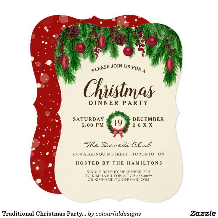 716 mejores imágenes de Zazzler\'s Christmas Invitations en Pinterest ...