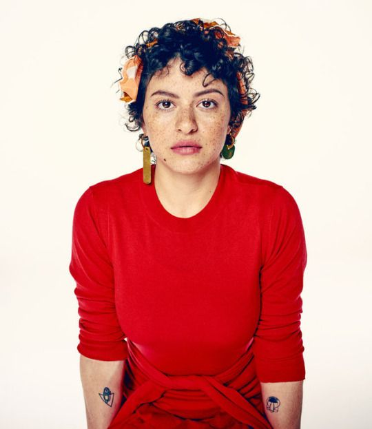 Alia Shawkat photographed by Steve Schofield for the Guardian, May 2017