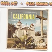California+Packet+Plus+Mount+Lassen+National+Park+View-master+Reel  ---  Packet+Contains+  VIEW-MASTER+REEL+ONE  1.+Golden+Gate,+San+Francisco,  and+Bay+from+the+Air  2.+State+Capitol+at+Sacramento  3.+Shasta+Dam+and+Mount+Shasta  4.+Redwood+Highway  5.+Emerald+Bay/+Lake+Tahoe  6.+Blessing+the+Gr...