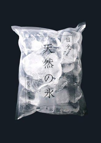 Natural Ice of Nikko, Japan