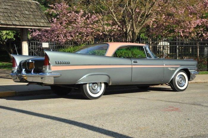 1957 Chrysler New Yorker 2 Door Hardtop Hipo Fifties Maniac Flickr Chrysler New Yorker Chrysler Cars Chrysler