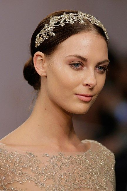 The best wedding hairstyles from bridal fashion week 2015