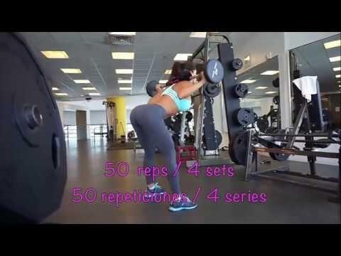 MICHELLE LEWIN: Ejercicios de glúteos, super rutina 2016 - YouTube