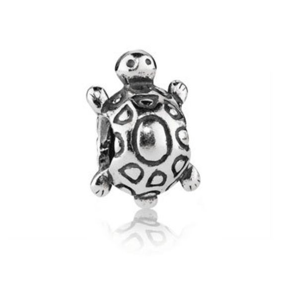Turtle Pandora Charm Sterling silver turtle Pandora charm. Bracelet not included. Great condition! Buy 3 or more charms and get a 10% bundle discount! Pandora Jewelry