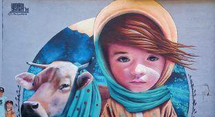 A impressionante arte de rua do sueco Yash