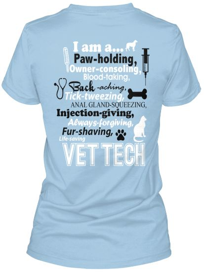 I am a Vet Tech T-Shirt!