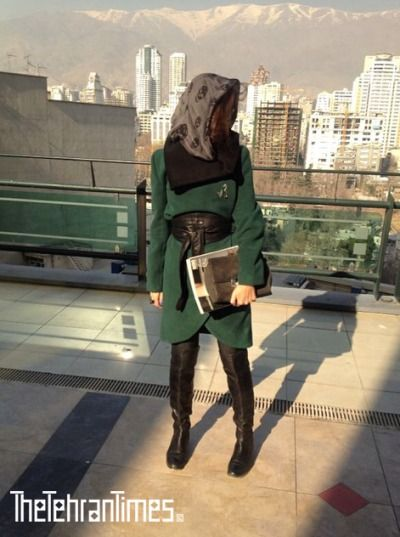 Shawl: Alexander McQueen Manteau: Banafsheh Nazarian HandBag: Yves Saint Laurent Belt: Reiss Boots: Michael Kors Accessories: Vintage Rings: Burberry and Yasmineh Jewelry