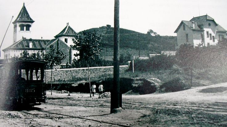 Davant de la font d'en fargues 1902, HORTA, Barcelona