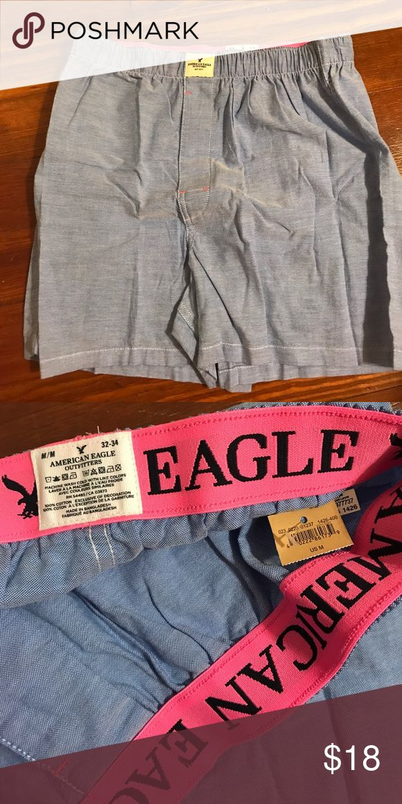 Men's new medium American eagle boxers Men's never worn new American eagle boxers American Eagle Outfitters Underwear & Socks Boxers